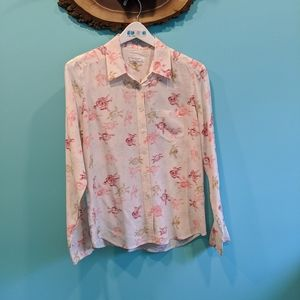 Equipment silk blouse size M in EUC